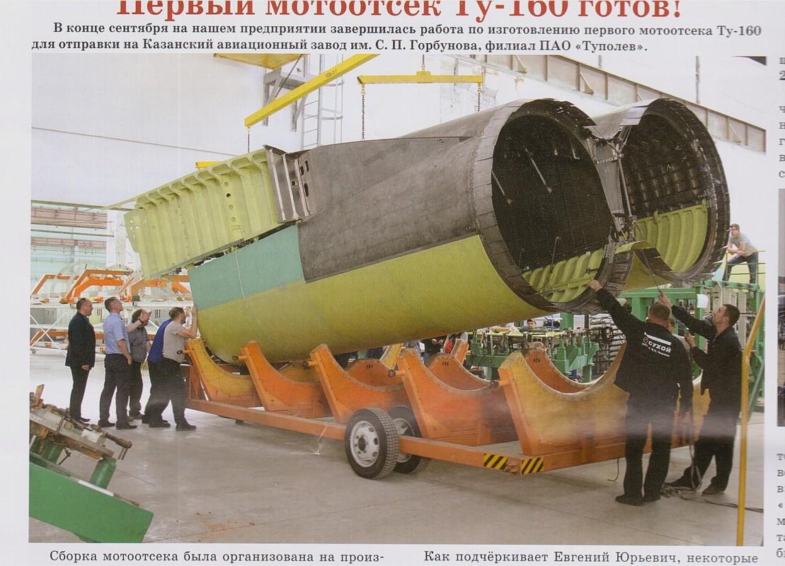 Sieu oanh tac co Tu-160M2 cua Nga sap hoan thien, san sang cat canh-Hinh-8
