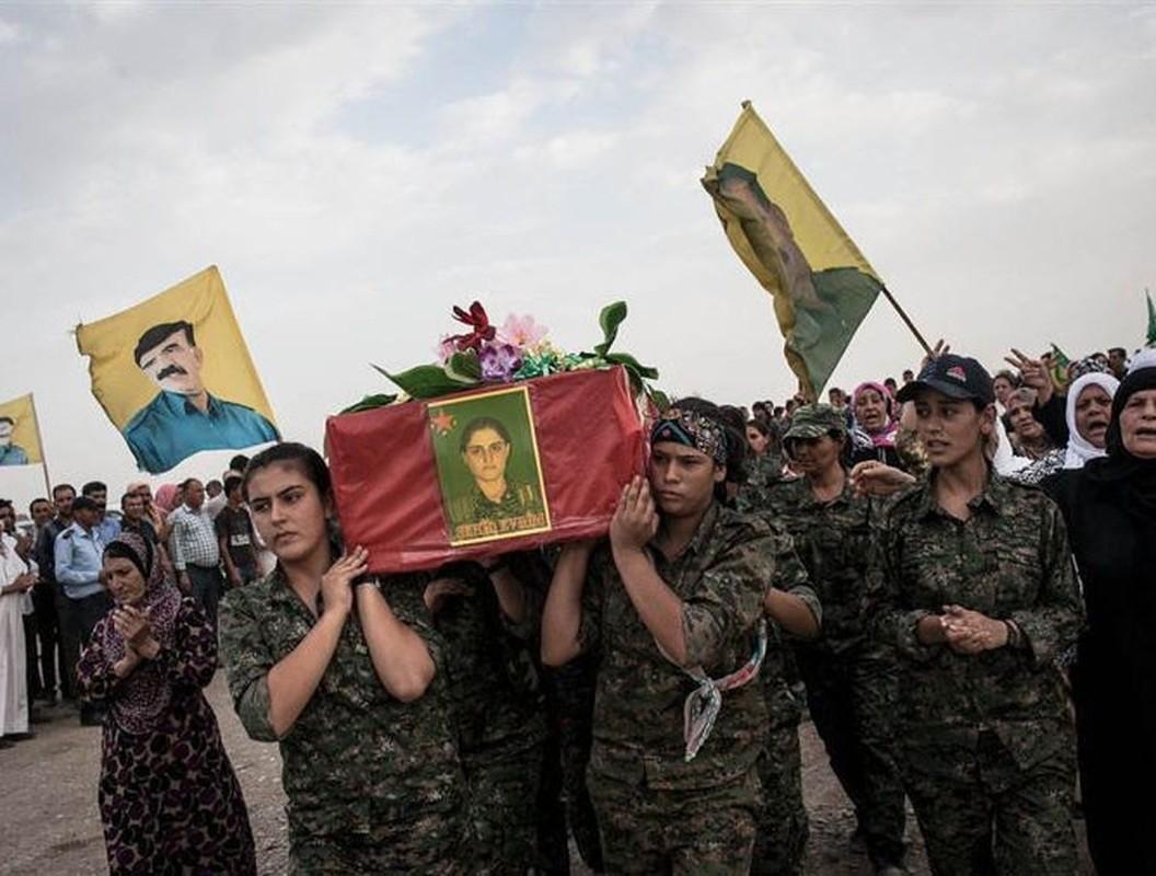 Tu IS den quan Tho, nu chien binh nguoi Kurd luon la noi am anh-Hinh-20