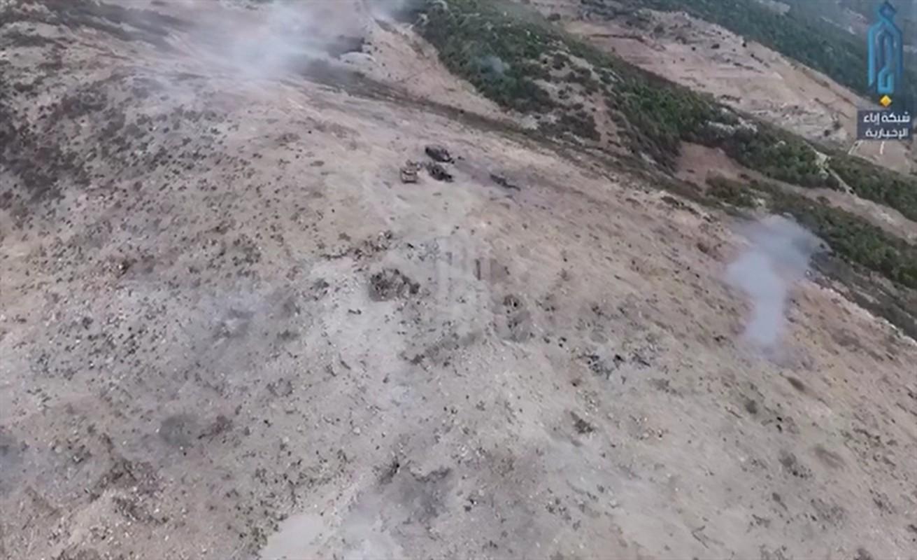Xe tang T-62M cua Nga tan tanh o chien truong Idlib, Latakia-Hinh-3