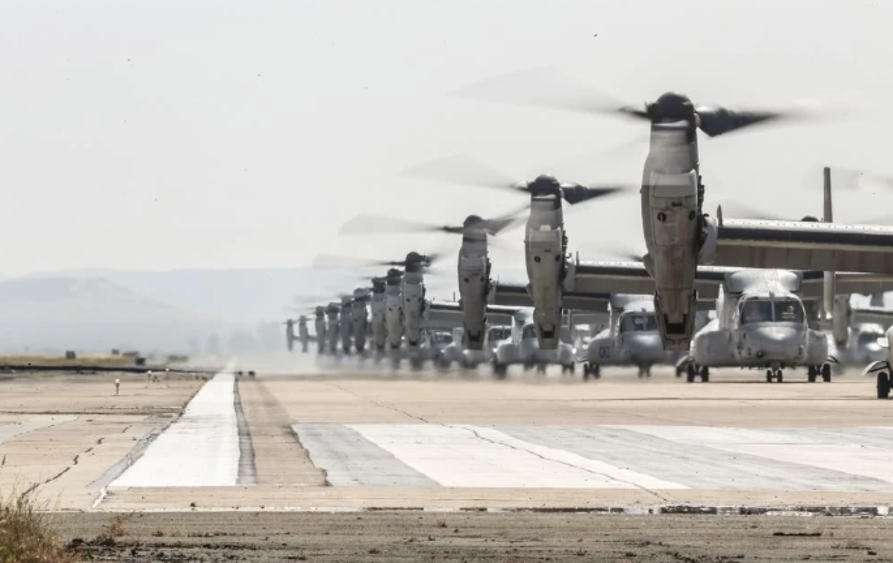 Truc thang lai sieu di V-22 Osprey xuat hien trong chien dich tieu diet Baghdadi?-Hinh-6