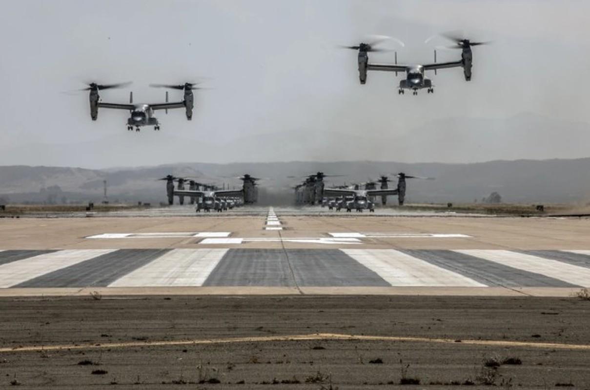 Truc thang lai sieu di V-22 Osprey xuat hien trong chien dich tieu diet Baghdadi?-Hinh-8