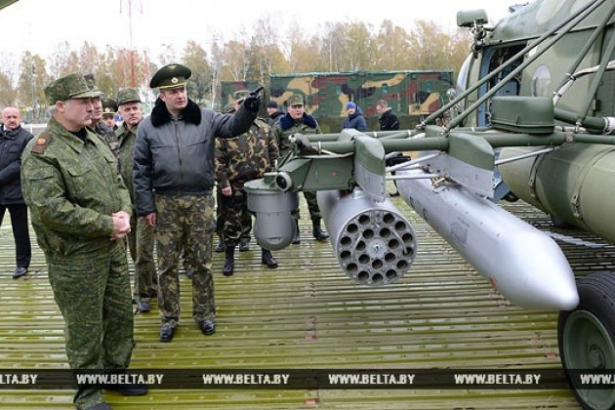 Chan dong: Tuyen bo tap tran voi NATO, tong tham muu truong quan doi Belarus bi cach chuc-Hinh-3