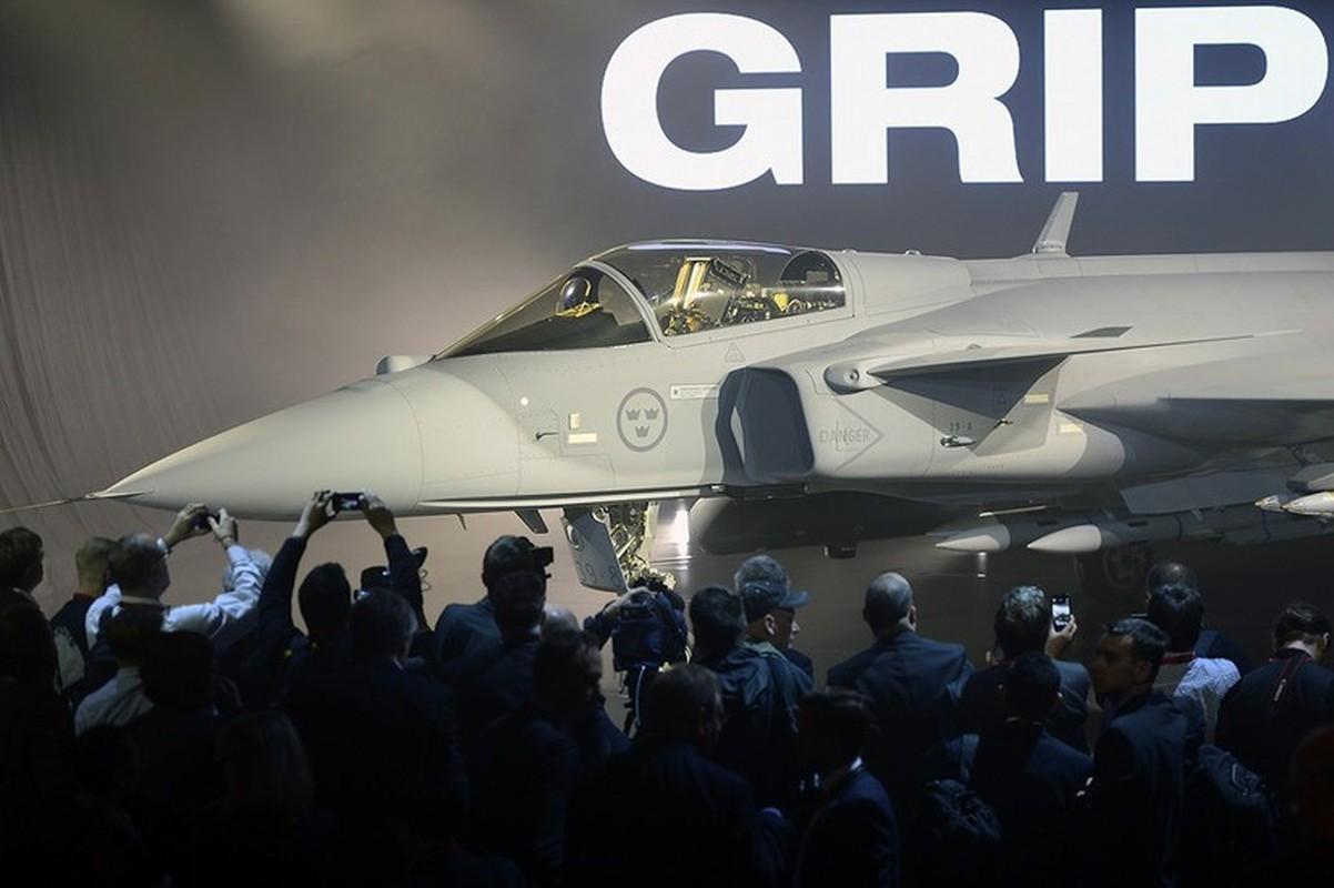 Nga khang dinh tiem kich da nang JAS-39E Gripen-E
