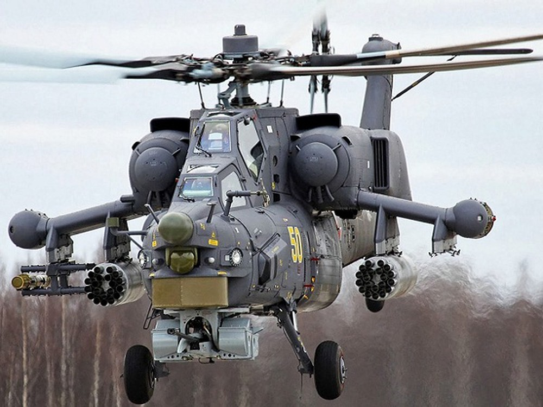 Truc thang Mi-28UB Nga gap nan: Vuong day dien cao the, roi up nguoc tan tanh-Hinh-2