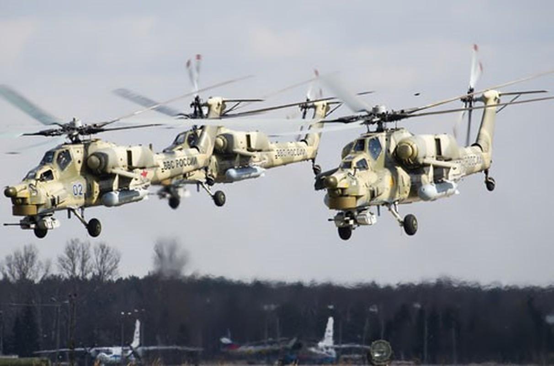 Truc thang Mi-28UB Nga gap nan: Vuong day dien cao the, roi up nguoc tan tanh-Hinh-9