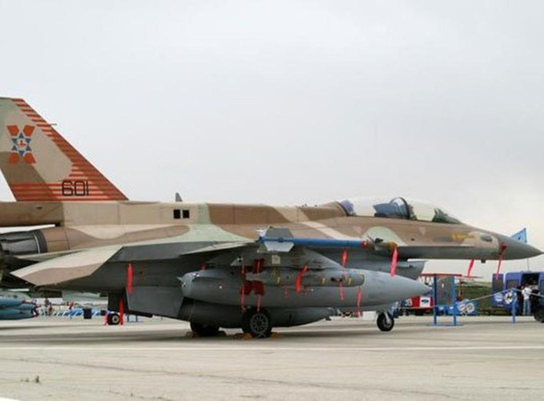 F-16I cua Israel mang ten lua Delilah