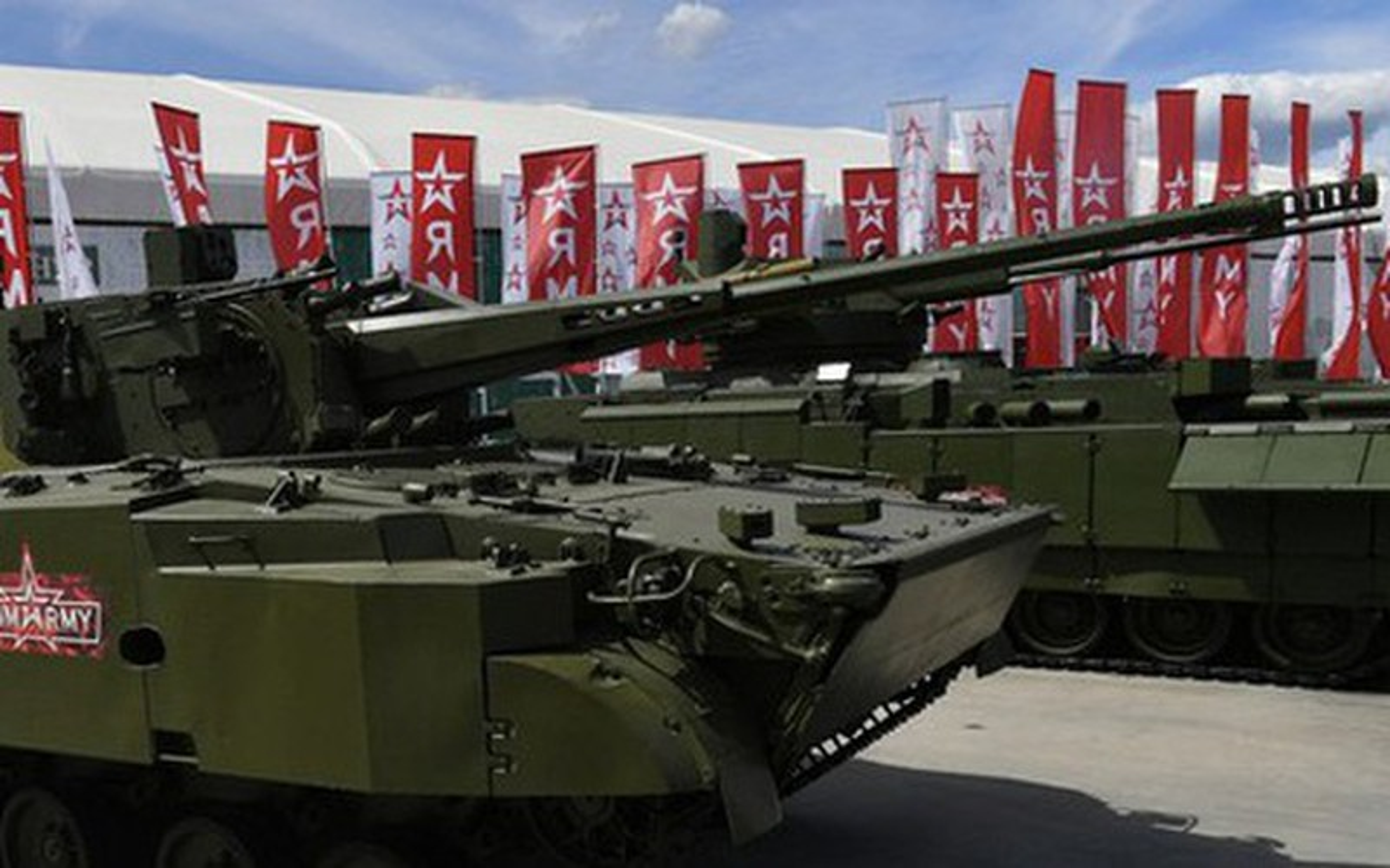 Trien khai phao phong khong la, Nga bien chien truong Syria thanh