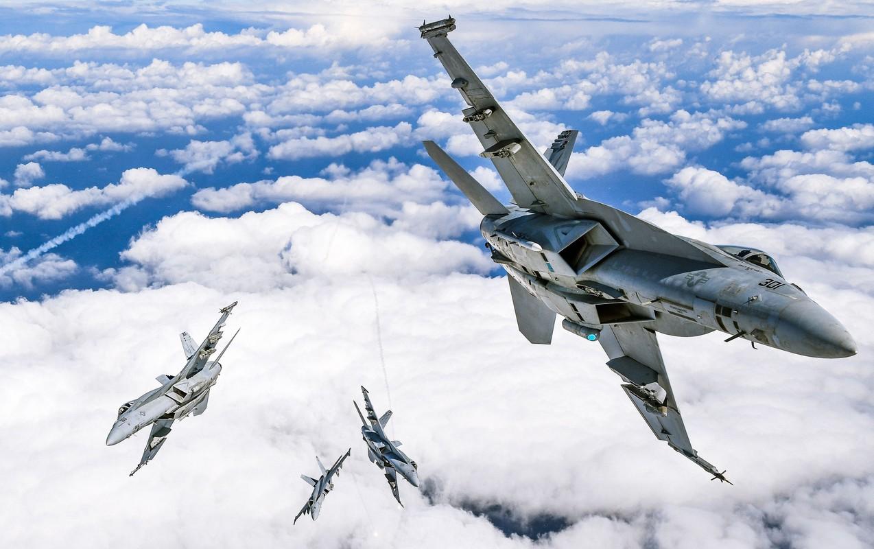Tiem kich FA-18E/F Super Hornet cua My da