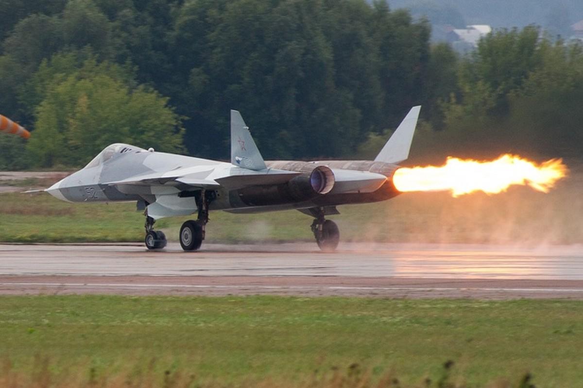 Khong quan Israel nang loi: Tiem kich Su-57 cua Nga chi de... bay bieu dien-Hinh-12