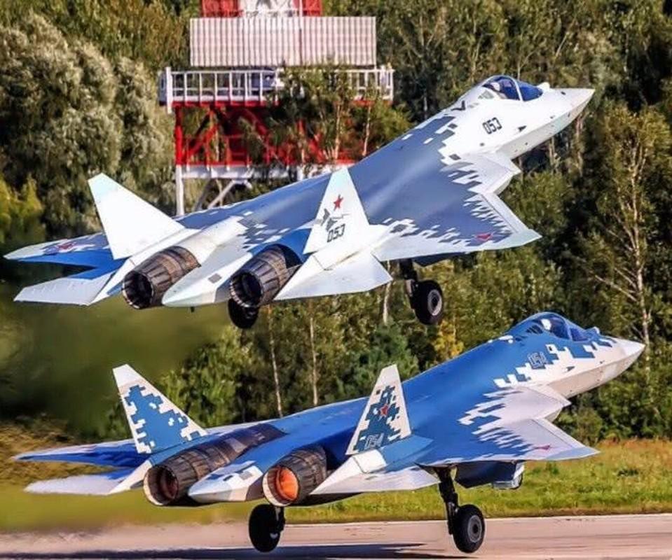 Khong quan Israel nang loi: Tiem kich Su-57 cua Nga chi de... bay bieu dien-Hinh-4