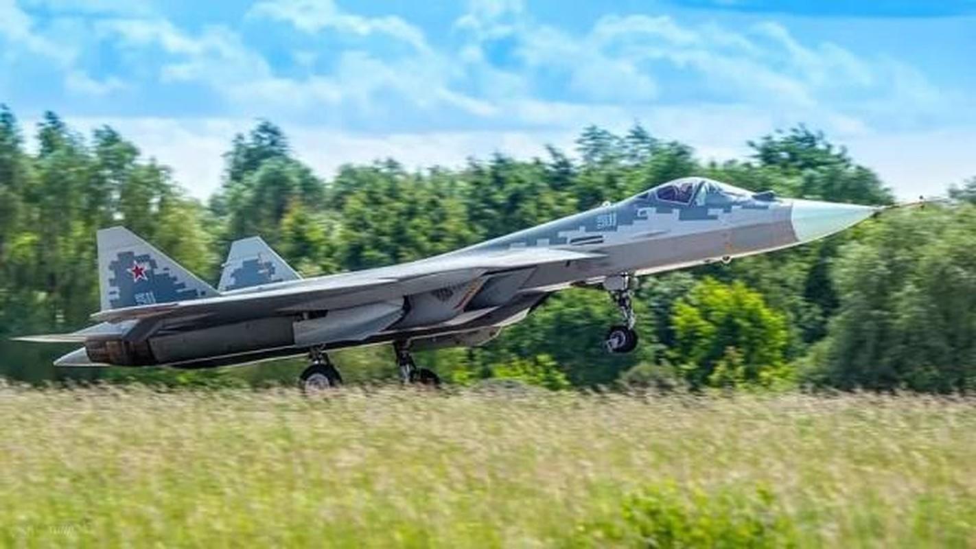 Khong quan Israel nang loi: Tiem kich Su-57 cua Nga chi de... bay bieu dien-Hinh-9