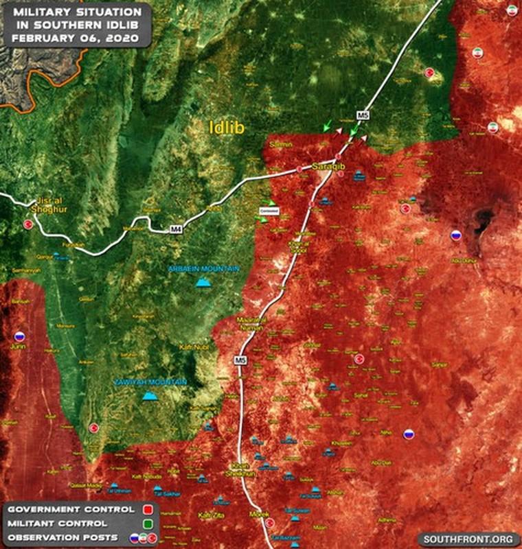 Phao binh Tho Nhi Ky truc tiep tung hoa luc ho tro phien quan o Idlib-Hinh-2