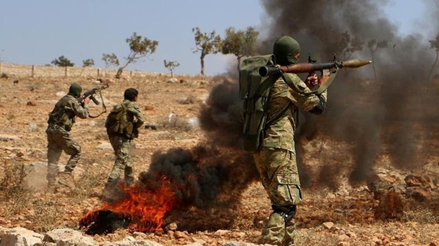 Phao binh Tho Nhi Ky truc tiep tung hoa luc ho tro phien quan o Idlib-Hinh-4