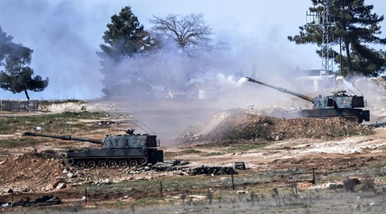 Tho Nhi Ky lien tuc tan cong SAA tai Idlib bang phao tam xa, bom ap nhiet-Hinh-6