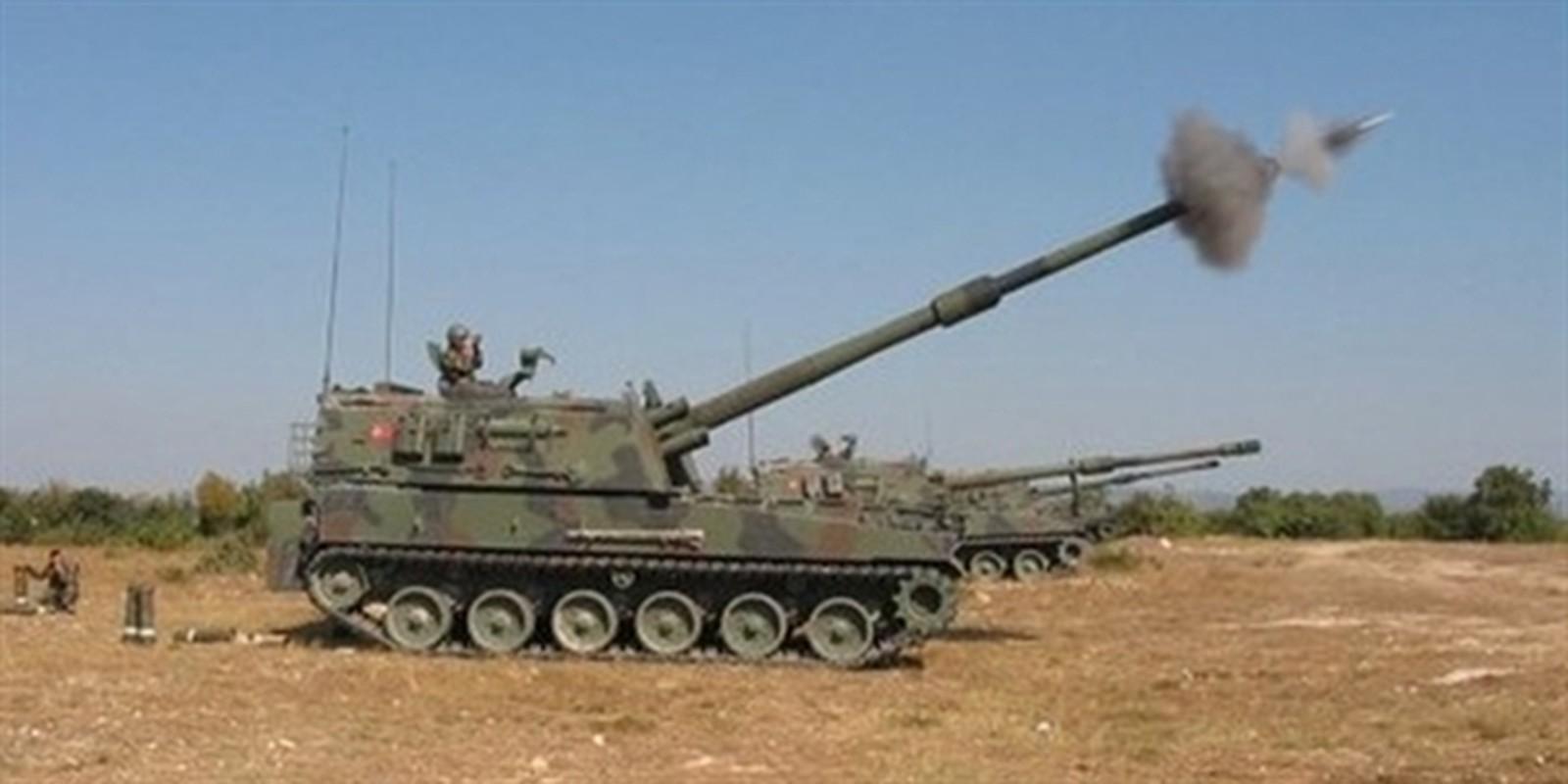 Tho Nhi Ky lien tuc tan cong SAA tai Idlib bang phao tam xa, bom ap nhiet-Hinh-8