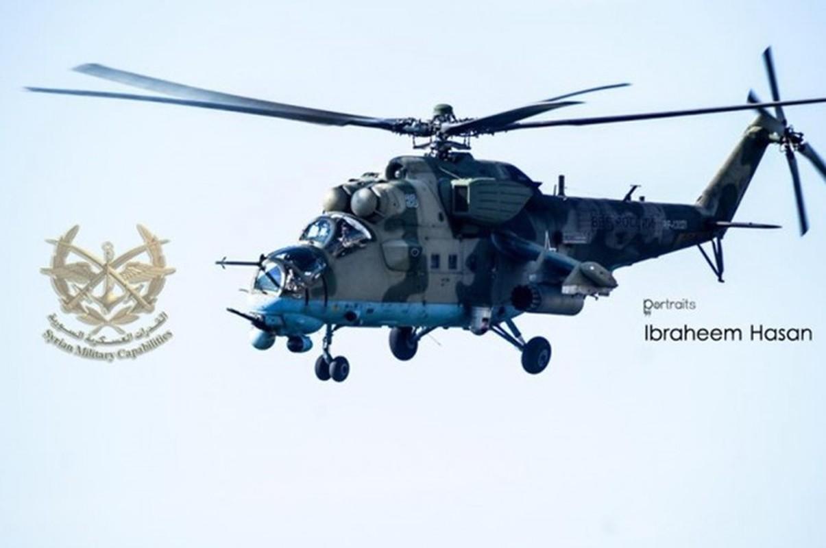 Phien quan khoi phuc xe tang T-90 chien loi pham, ha them nhieu truc thang Syria-Hinh-10