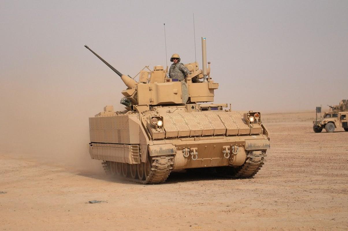 Sau xe tang M1A2 Abrams, My dua tiep xe chien dau M2 Bradley vao chien truong Syria-Hinh-13
