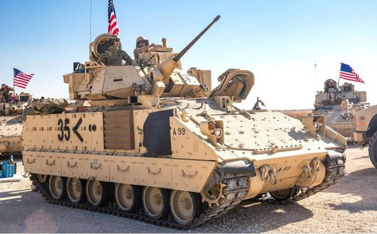 Sau xe tang M1A2 Abrams, My dua tiep xe chien dau M2 Bradley vao chien truong Syria-Hinh-2