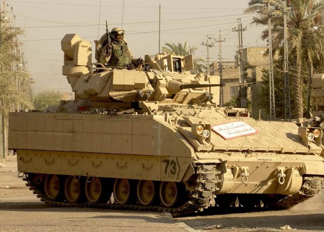 Sau xe tang M1A2 Abrams, My dua tiep xe chien dau M2 Bradley vao chien truong Syria-Hinh-4