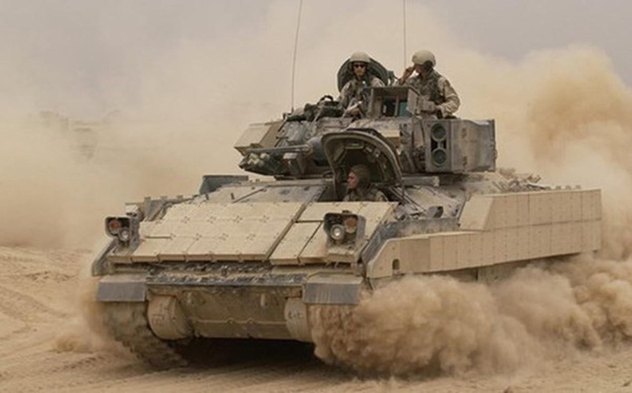 Sau xe tang M1A2 Abrams, My dua tiep xe chien dau M2 Bradley vao chien truong Syria-Hinh-5