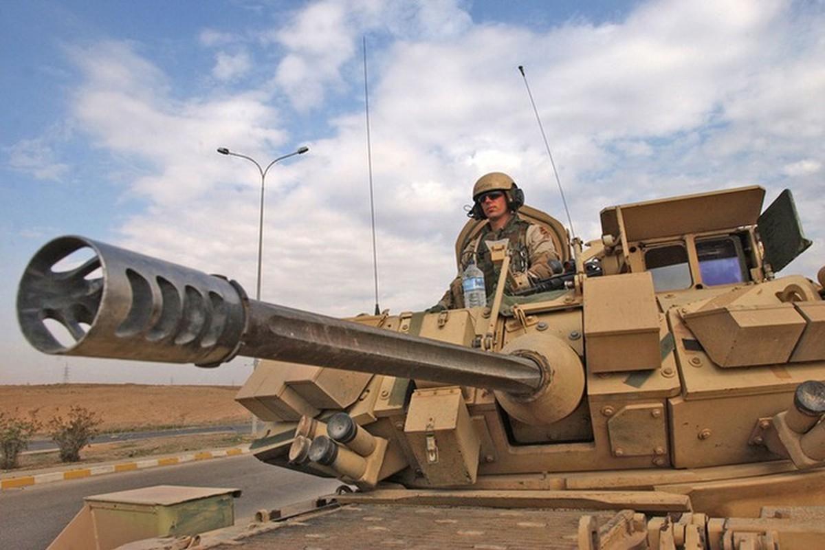 Sau xe tang M1A2 Abrams, My dua tiep xe chien dau M2 Bradley vao chien truong Syria-Hinh-7