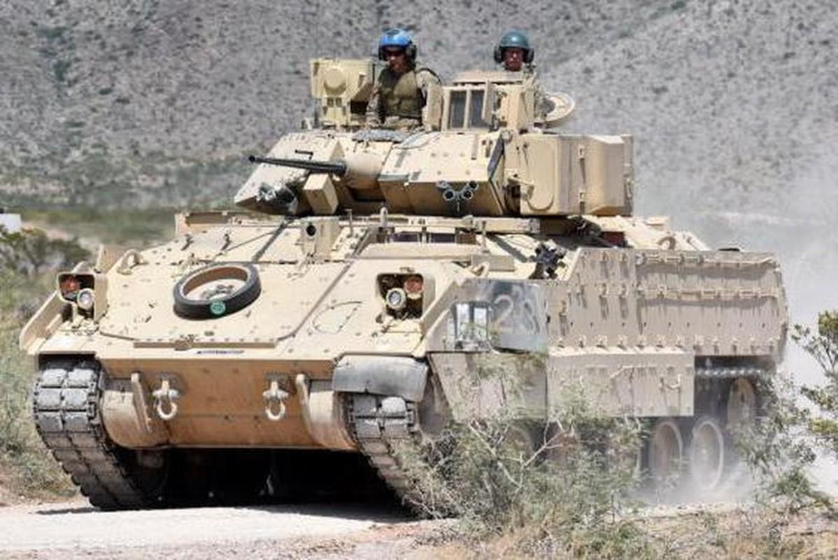 Sau xe tang M1A2 Abrams, My dua tiep xe chien dau M2 Bradley vao chien truong Syria-Hinh-9