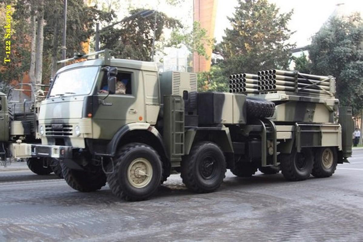Dap tra hoa luc BM-21 Syria, Tho Nhi Ky se trien khai phao phong loat T-122-Hinh-12