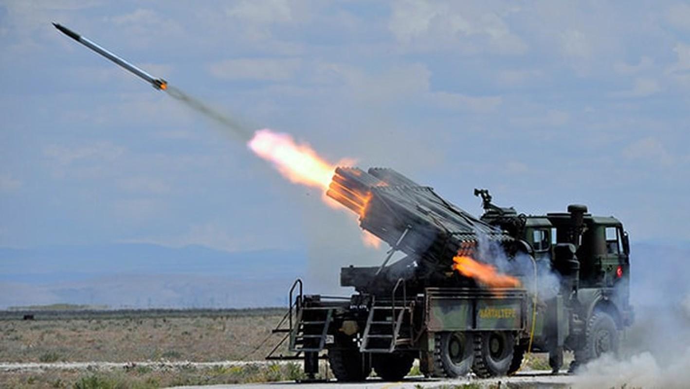 Dap tra hoa luc BM-21 Syria, Tho Nhi Ky se trien khai phao phong loat T-122-Hinh-9