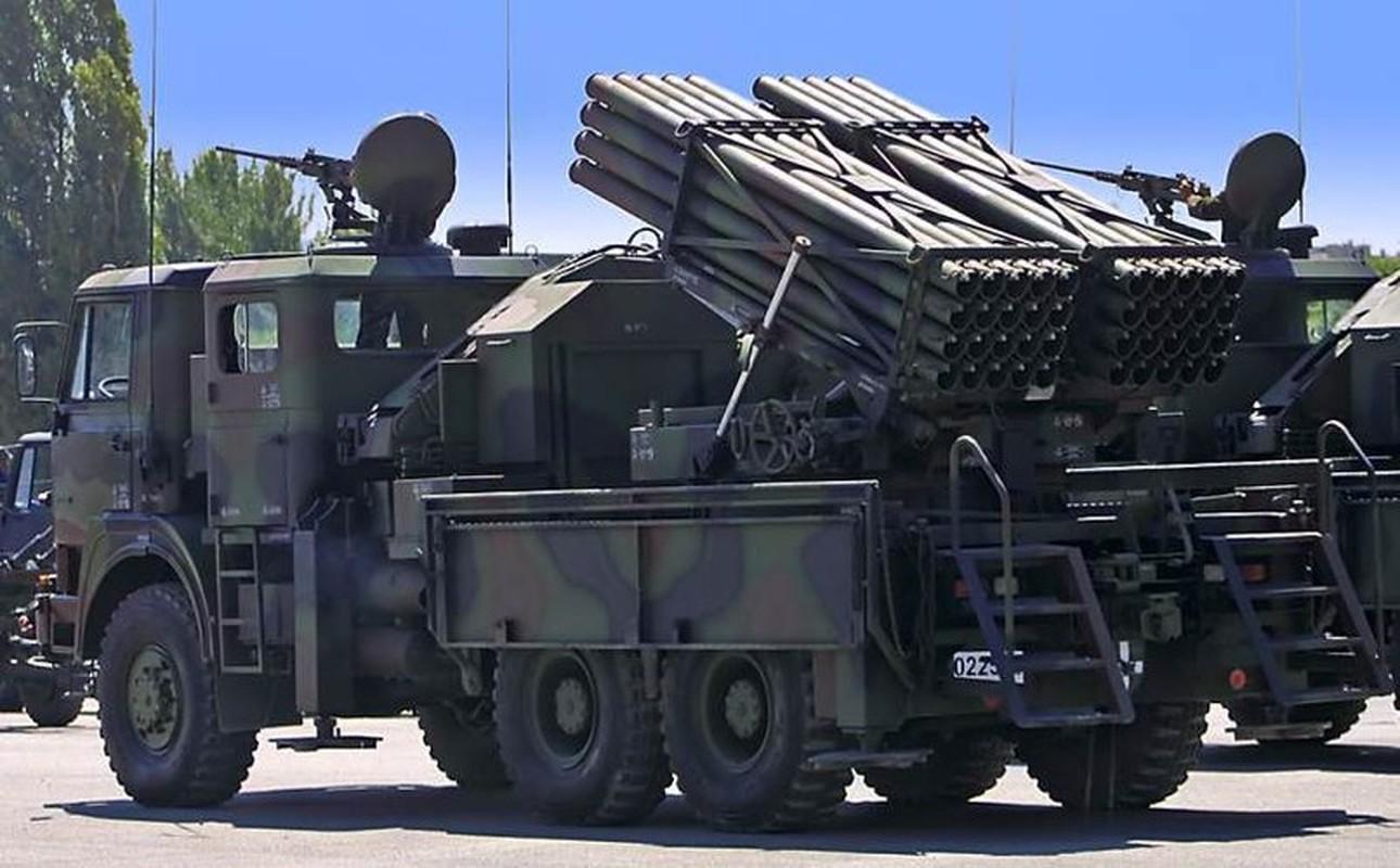 Dap tra hoa luc BM-21 Syria, Tho Nhi Ky se trien khai phao phong loat T-122