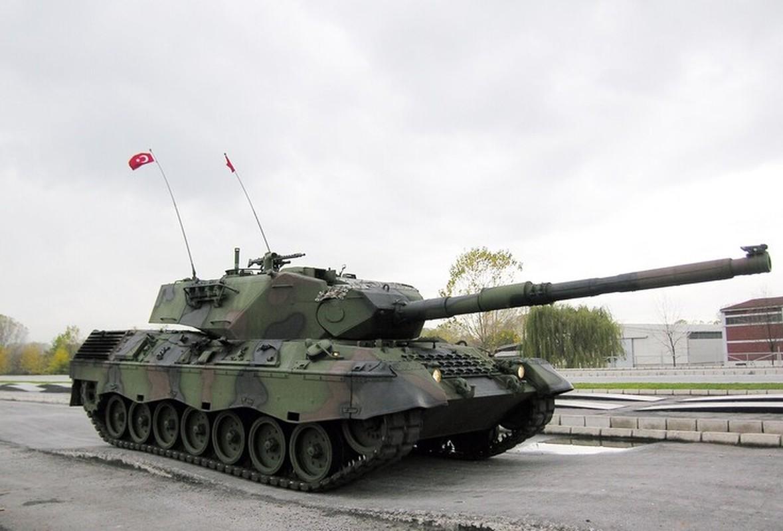 Vi sao luc quan Tho Nhi Ky chua tung xe tang Leopard 1A5 vao chien truong Syria?