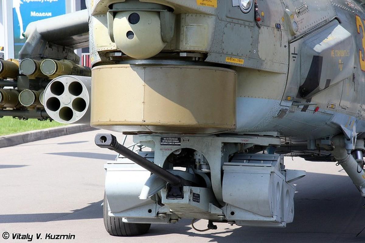 Phao 2A42 30mm tren truc thang tan cong Mi-28 cua Nga loi hai the nao?-Hinh-12