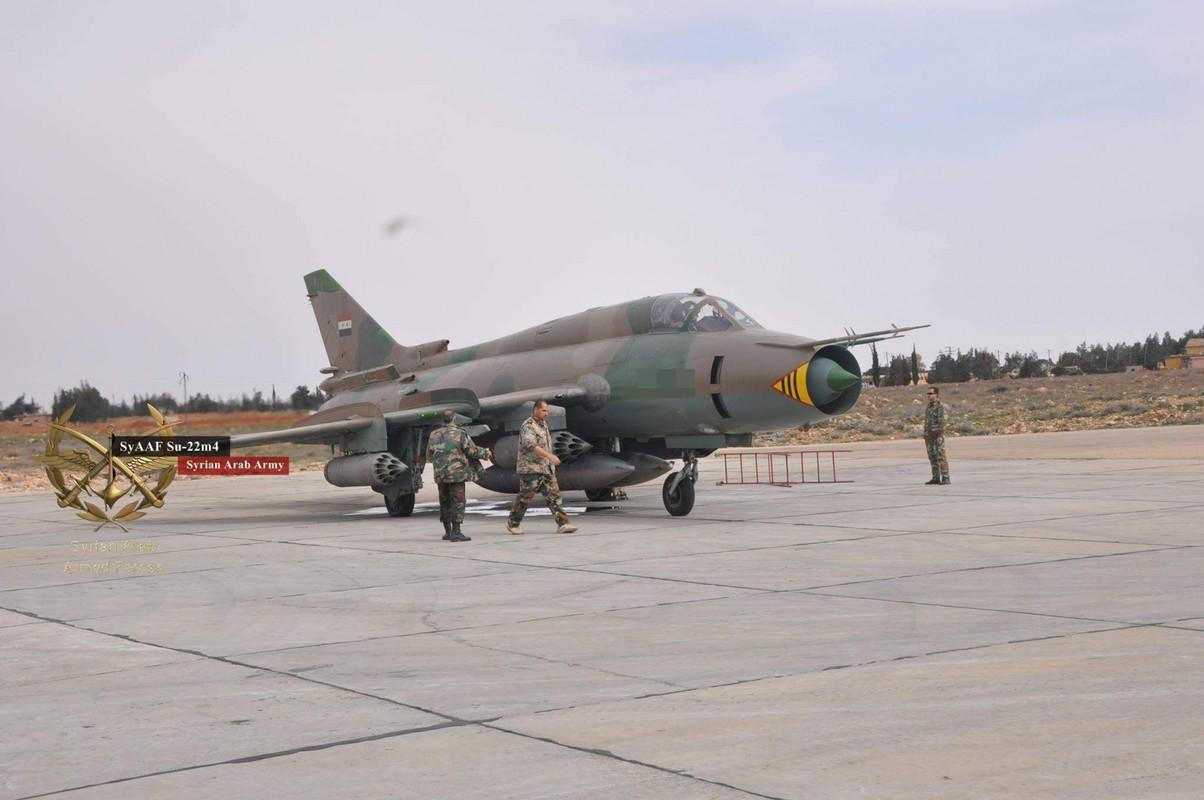 """Vi sao """"ong gia gan"""" Su-22 van la ac mong cua luc luong phien quan Syria?-Hinh-5"""