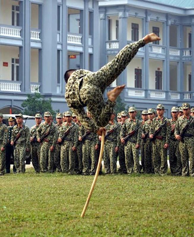 Dieu it biet ve luc luong dac cong biet dong Viet Nam