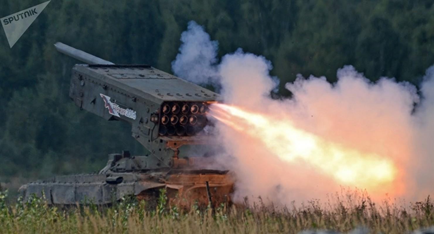Nga cong bo phao ap nhiet TOS-2 Tosochka trong Ngay chien thang roi dua ngay den Syria?-Hinh-3