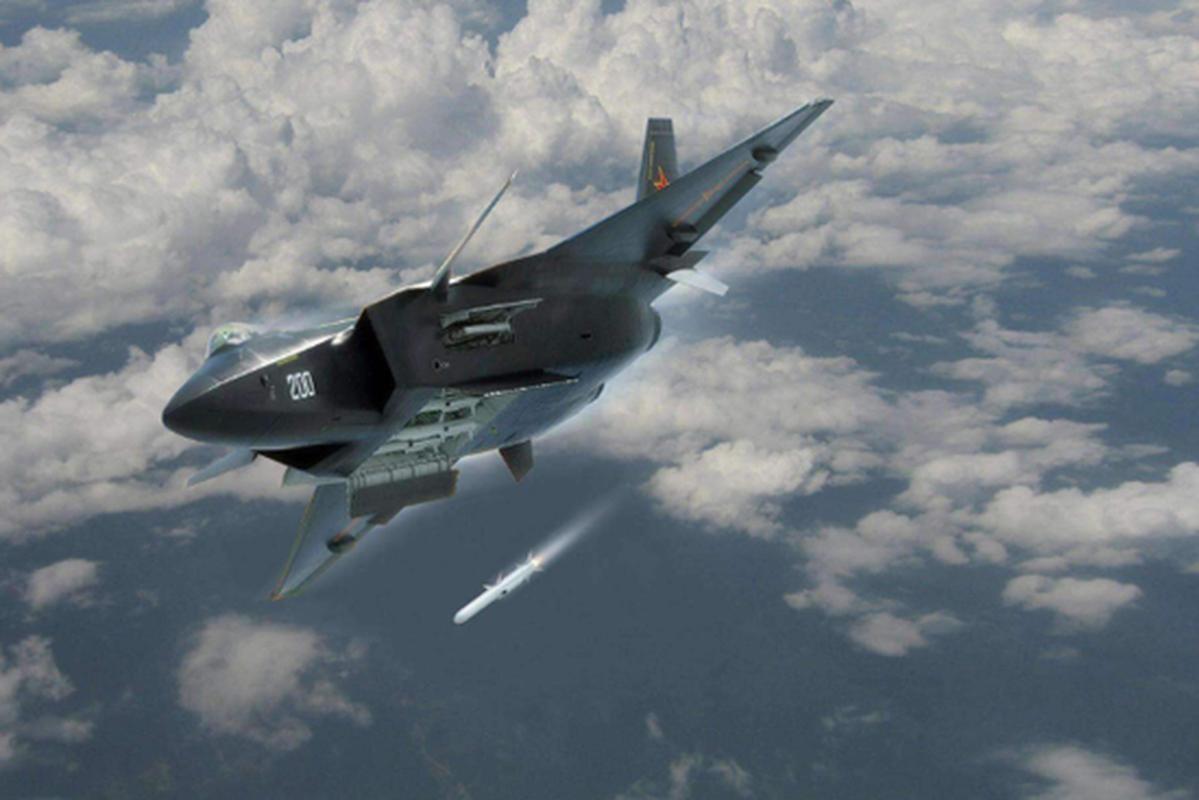 "J-20 cung ten lua PL-15 se ""nghien nat"" F-22, F35 My: Phai chang Trung Quoc dang ""tu suong""?-Hinh-8"
