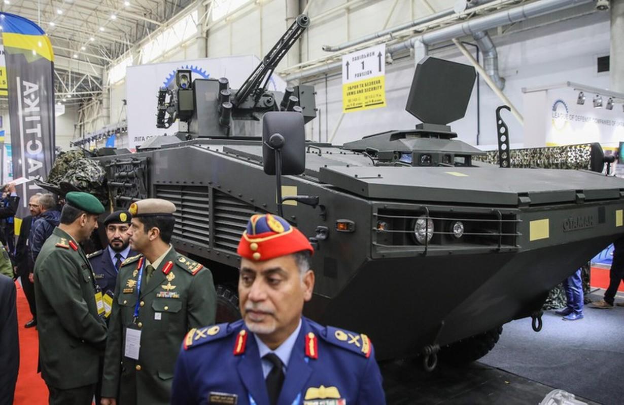 Quay lung hoan toan voi Nga, Ukraine trinh lang xe thiet giap chuan NATO-Hinh-3