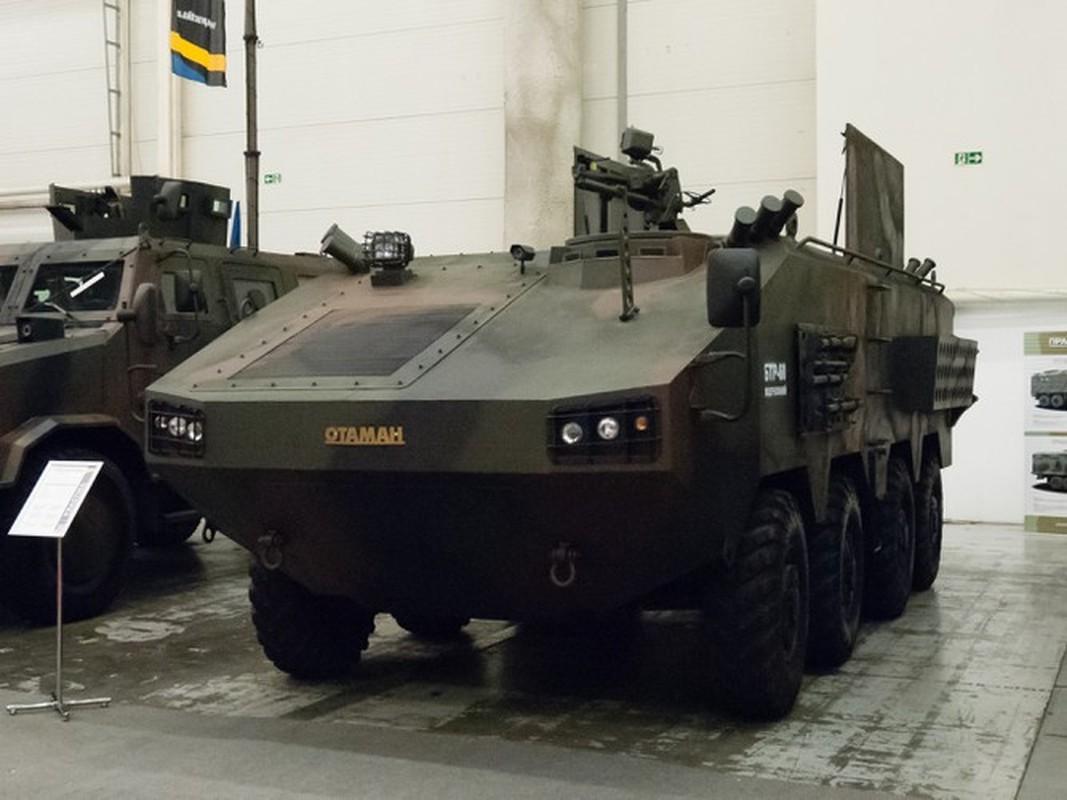 Quay lung hoan toan voi Nga, Ukraine trinh lang xe thiet giap chuan NATO-Hinh-6