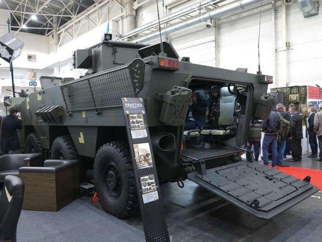 Quay lung hoan toan voi Nga, Ukraine trinh lang xe thiet giap chuan NATO-Hinh-8