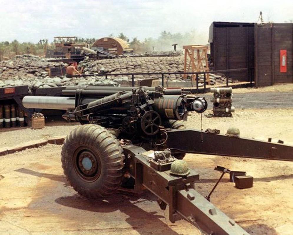 Phien quan Syria co them luu phao M114 co nong 155mm do Tho Nhi Ky trang bi-Hinh-3