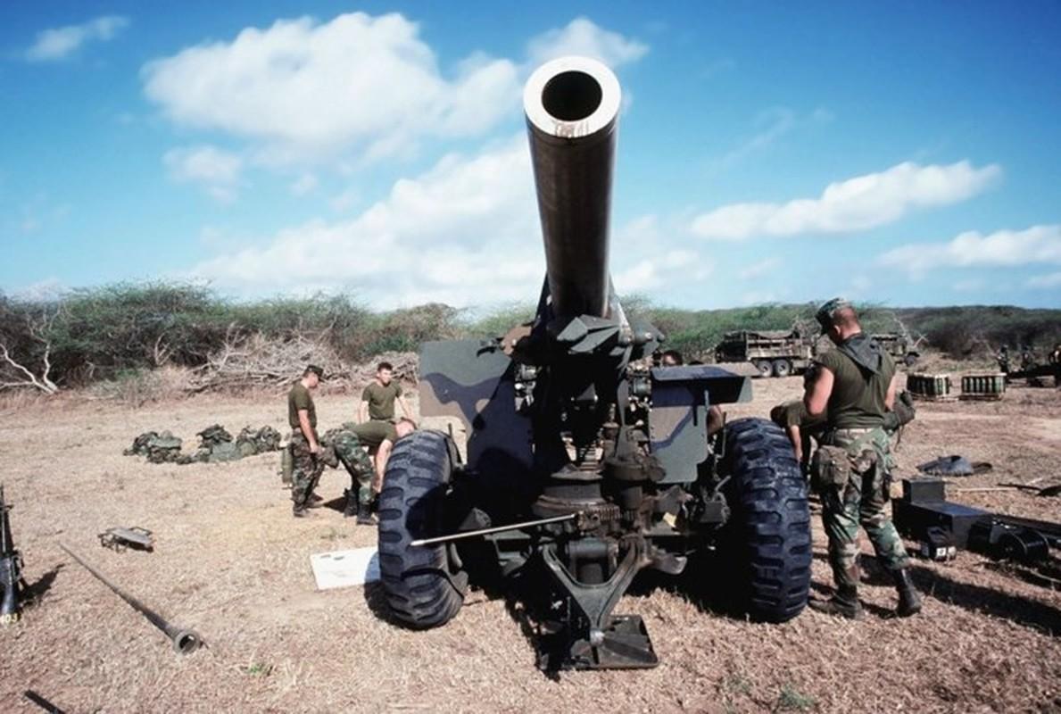 Phien quan Syria co them luu phao M114 co nong 155mm do Tho Nhi Ky trang bi-Hinh-4