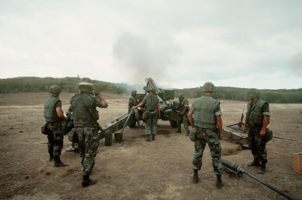 Phien quan Syria co them luu phao M114 co nong 155mm do Tho Nhi Ky trang bi-Hinh-8