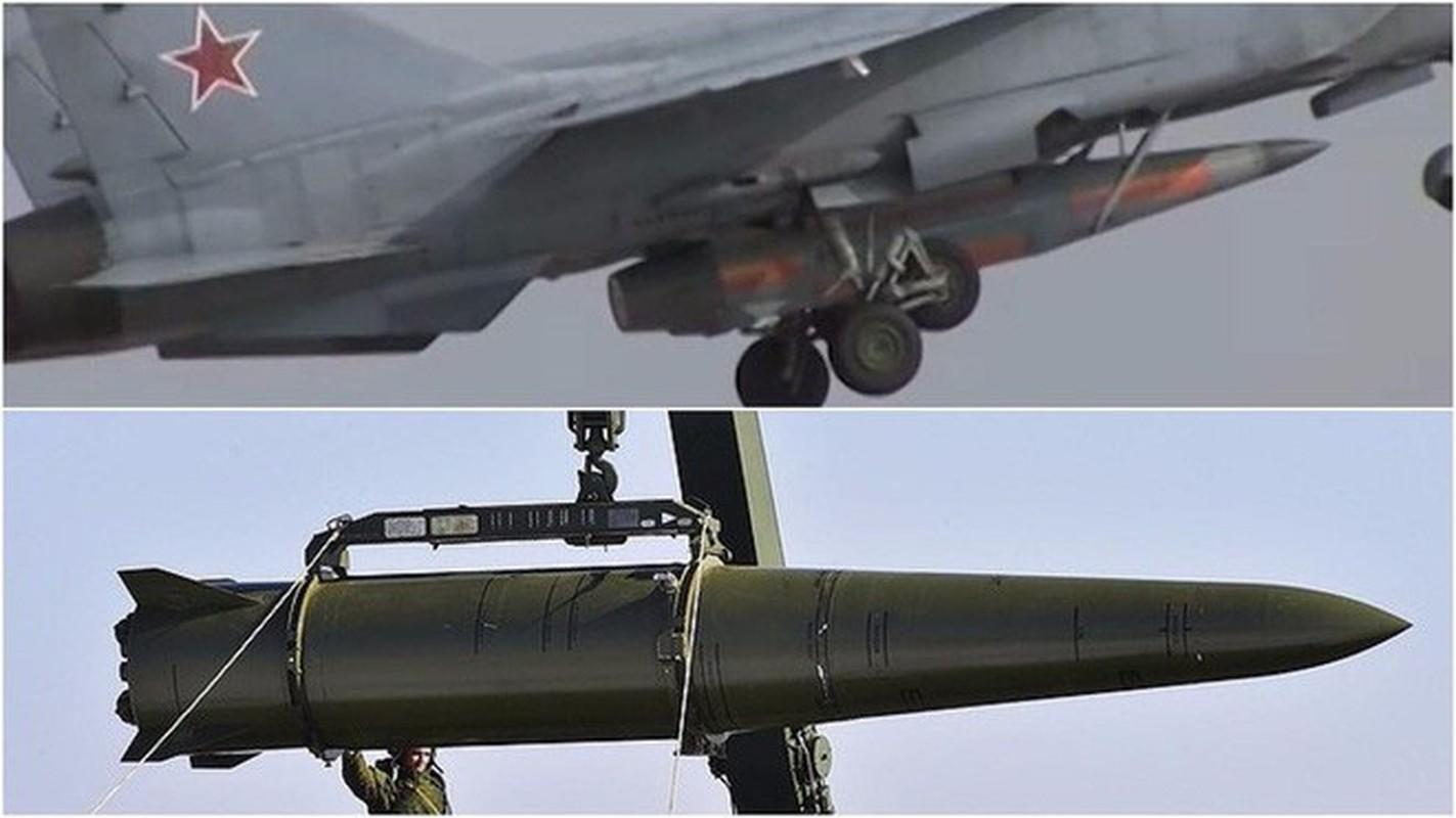 """MiG-31 phong ten lua sieu thanh; Nga nhac nho: """"Tho Nhi Ky khong nen ngao man!""""-Hinh-7"""
