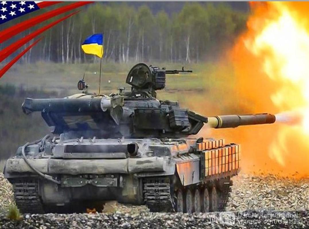 Suc manh xe tang T-64BV duoc Ukraine