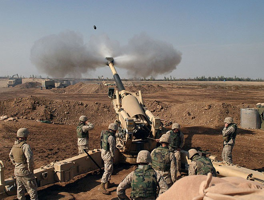 Phien quan Syria lam cach nao de so huu luu phao hang nang M198 cua My?-Hinh-13