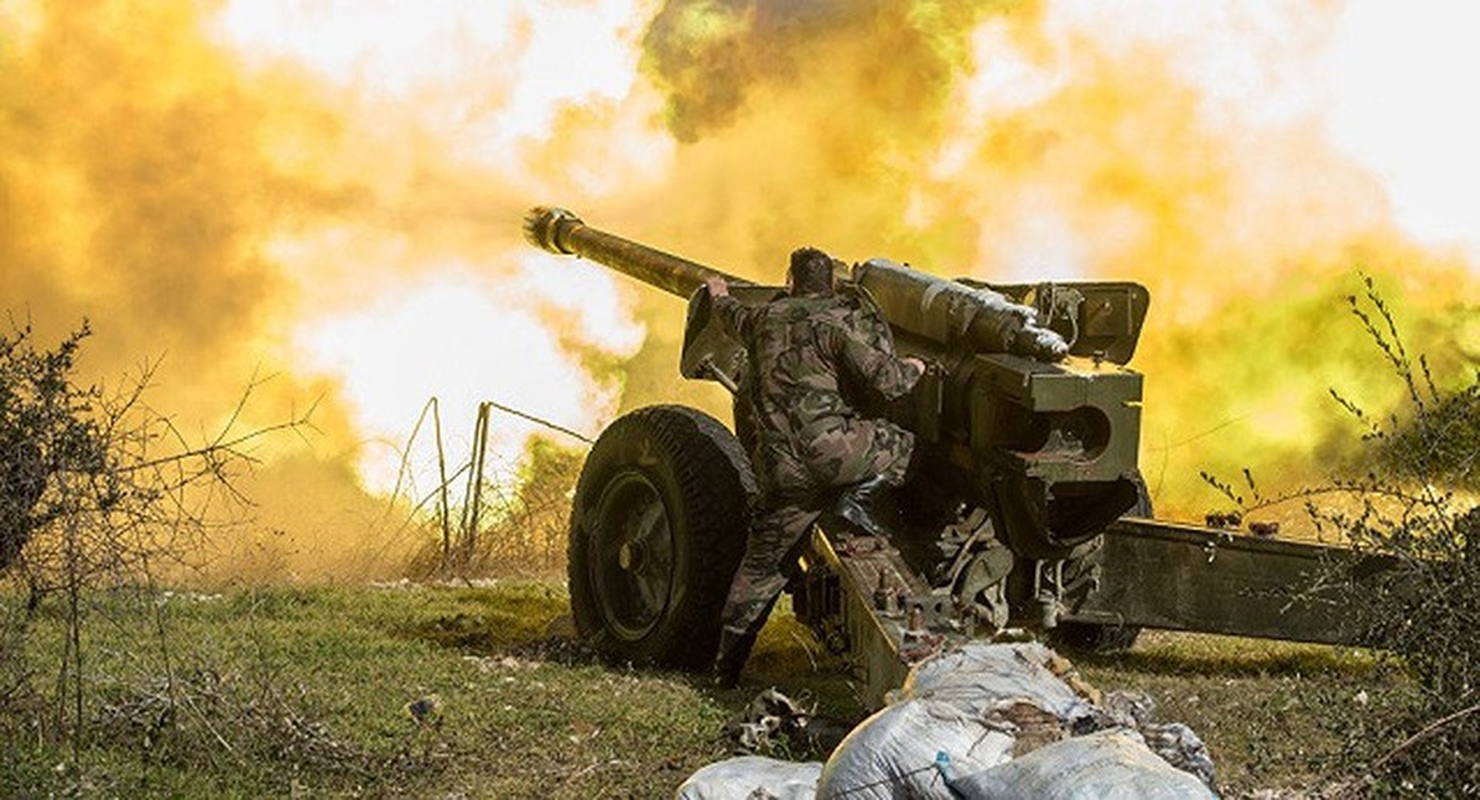 Quan doi Syria mo cuoc tan cong lon doc theo chien tuyen Nam Idlib-Hinh-13