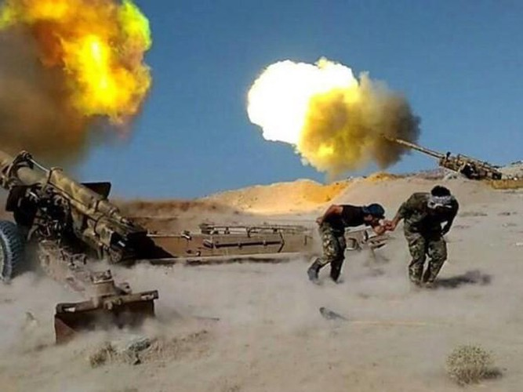 Quan doi Syria mo cuoc tan cong lon doc theo chien tuyen Nam Idlib-Hinh-5