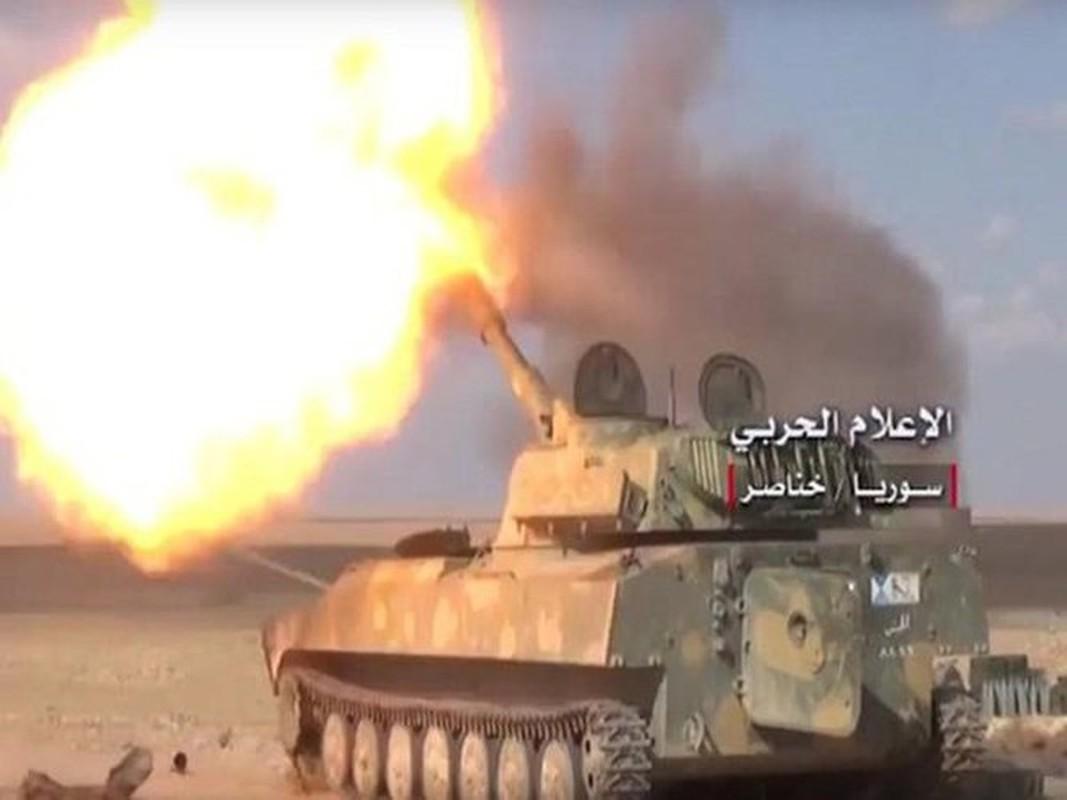 Quan doi Syria mo cuoc tan cong lon doc theo chien tuyen Nam Idlib-Hinh-7