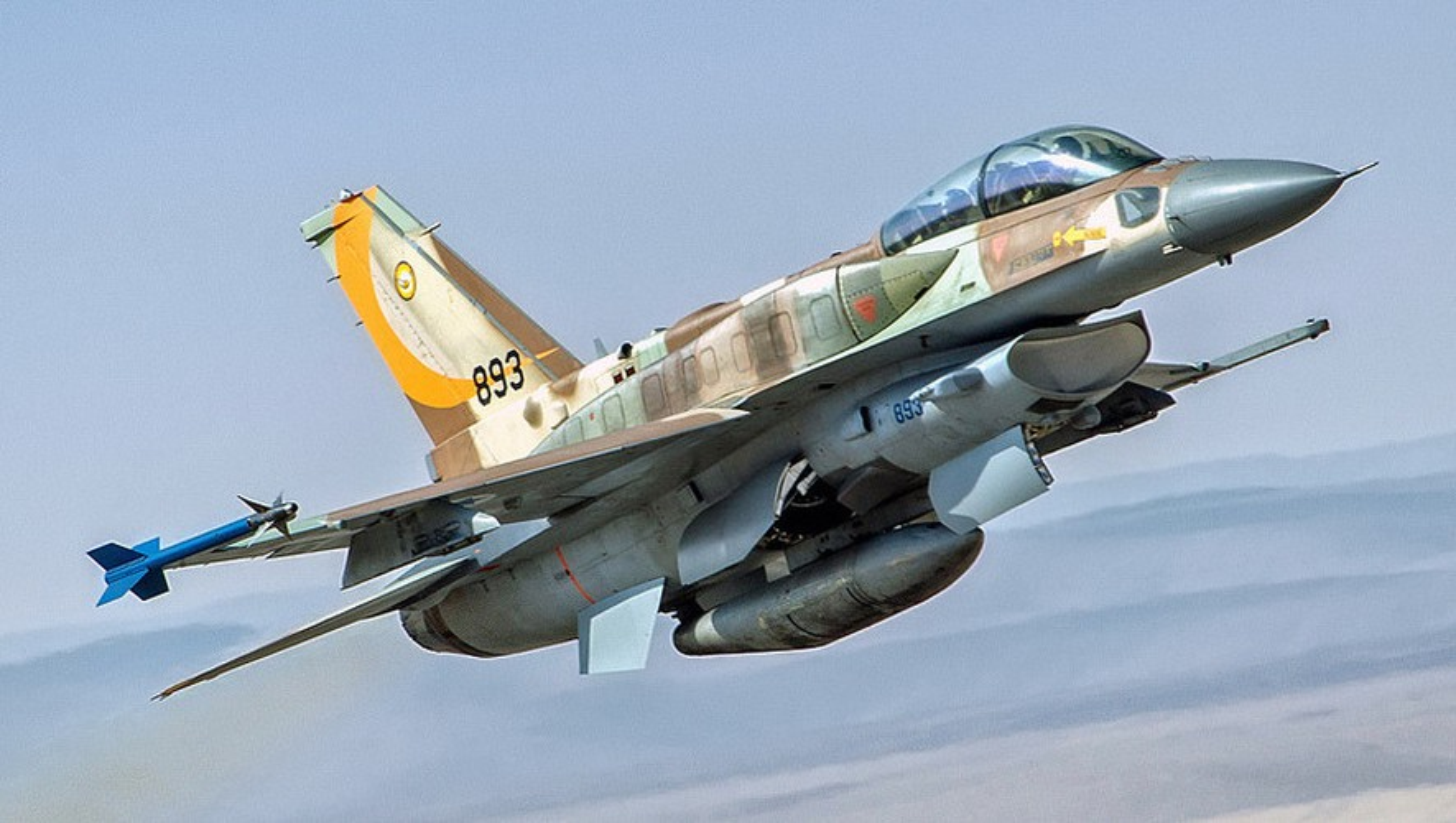 Khong quan Israel tan cong du doi Damascus dap tra phong khong Syria ban F-16-Hinh-6
