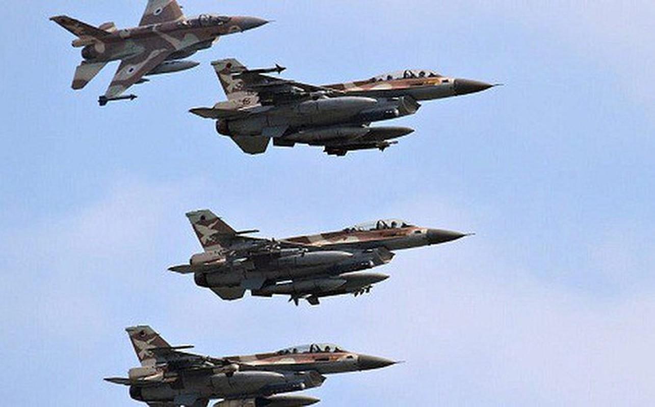 Khong quan Israel tan cong du doi Damascus dap tra phong khong Syria ban F-16-Hinh-8