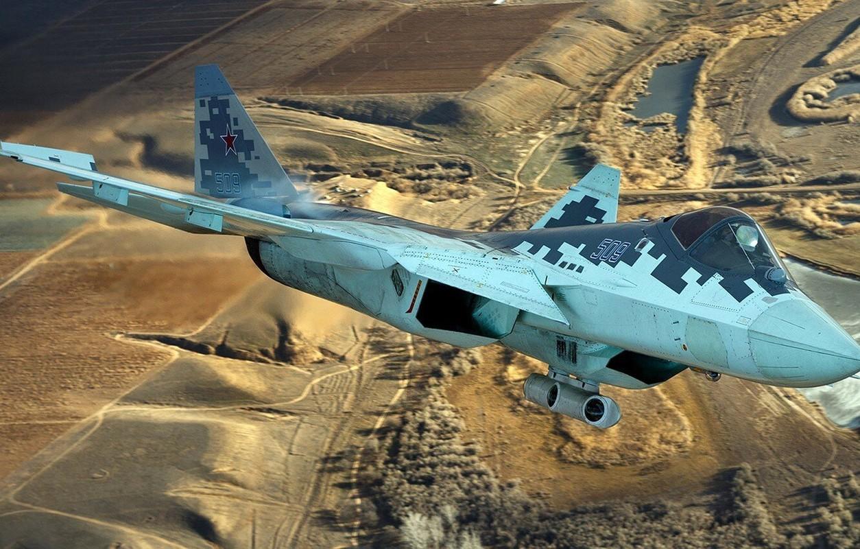 Trung Quoc che xe tang T-14 Armata va tiem kich Su-57 cua Nga vo dung o Syria-Hinh-7